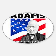 06 JQ Adams Sticker (Oval)