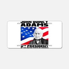 06 JQ Adams Aluminum License Plate