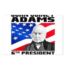 06 JQ Adams Postcards (Package of 8)