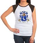 Racine Family Crest Women's Cap Sleeve T-Shirt