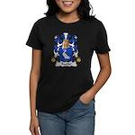 Racine Family Crest Women's Dark T-Shirt