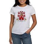 Quesnel Family Crest Women's T-Shirt