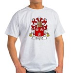 Quesnel Family Crest  Light T-Shirt