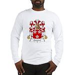 Quesnel Family Crest  Long Sleeve T-Shirt
