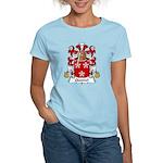 Quesnel Family Crest  Women's Light T-Shirt
