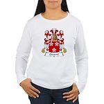 Quesnel Family Crest  Women's Long Sleeve T-Shirt