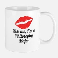 Kiss Me Im A Philosophy Major Mugs