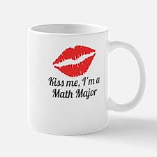 Kiss Me Im A Math Major Mugs
