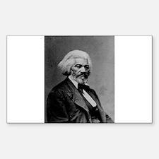 Frederick Douglas Rectangle Decal