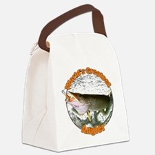 World's greatest angler Canvas Lunch Bag