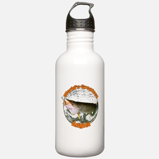 World's greatest angle Water Bottle