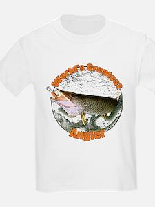 World's greatest angler T-Shirt