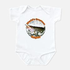 World's greatest angler Infant Bodysuit