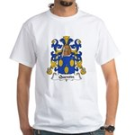 Quentin Family Crest White T-Shirt