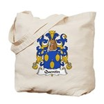 Quentin Family Crest  Tote Bag