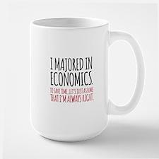 Majored In Economics Mugs
