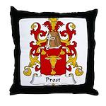 Prost Family Crest Throw Pillow