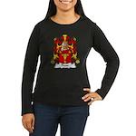 Prost Family Crest Women's Long Sleeve Dark T-Shir