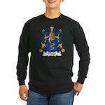 Prieur Family Crest Long Sleeve Dark T-Shirt