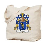 Prieur Family Crest Tote Bag