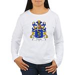 Prieur Family Crest Women's Long Sleeve T-Shirt