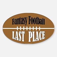 Funny Fantasy football Sticker (Oval)