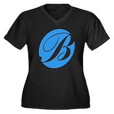 Pitch Perfec Women's Plus Size V-Neck Dark T-Shirt