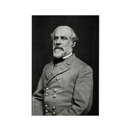 Robert E Lee (2) Rectangle Magnet (100 pack)