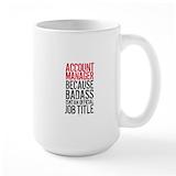 Account manager badass Coffee Mugs