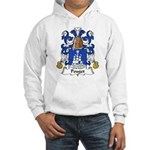 Pouget Family Crest Hooded Sweatshirt