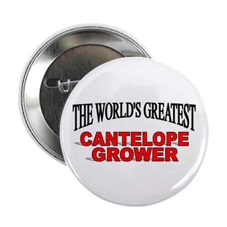 """The World's Greatest Cantelope Grower"" Button"