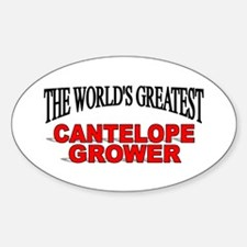 """The World's Greatest Cantelope Grower"" Decal"