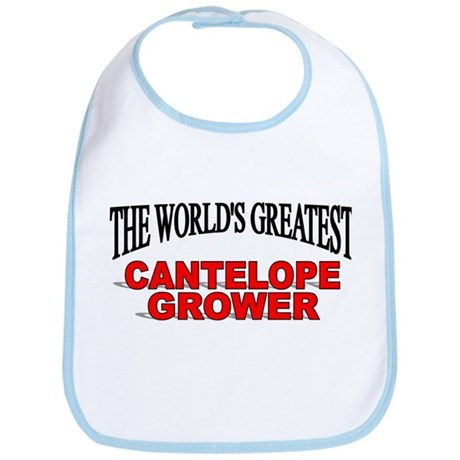 """The World's Greatest Cantelope Grower"" Bib"