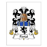 Portal Family Crest Small Poster