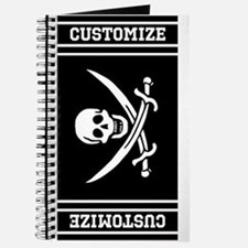 Customized Pirate Flag Journal