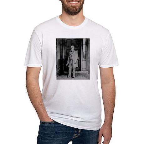 Robert E Lee (3) Fitted T-Shirt