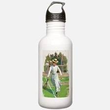 tennis in art Water Bottle