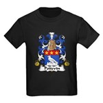 Poitevin Family Crest Kids Dark T-Shirt