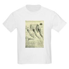 Male Anatomy by Leonardo da Vinci T-Shirt