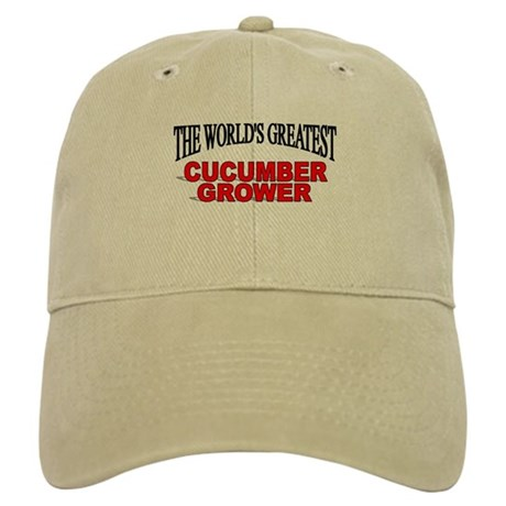 """The World's Greatest Cucumber Grower"" Cap"