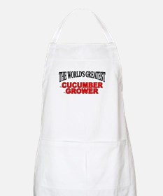 """""""The World's Greatest Cucumber Grower"""" BBQ Apron"""