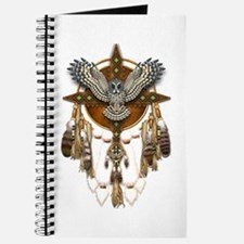 Great Grey Owl Mandala Journal