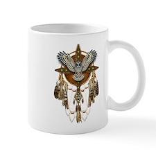 Great Grey Owl Mandala Mug