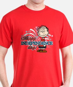 Linus - Happy Independence Day T-Shirt
