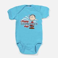 Linus - Happy Independence Day Baby Bodysuit