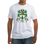 Pinot Family Crest  Fitted T-Shirt