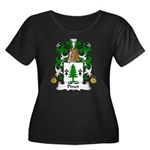 Pinot Family Crest  Women's Plus Size Scoop Neck D