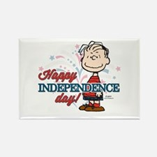 Linus - Happy Independence Day Rectangle Magnet