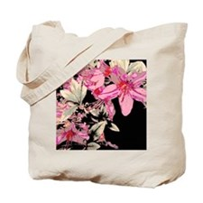 Contrasted Lilies Tote Bag