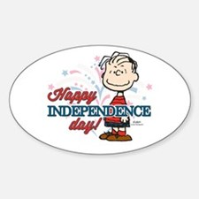 Linus - Happy Independence Day Decal